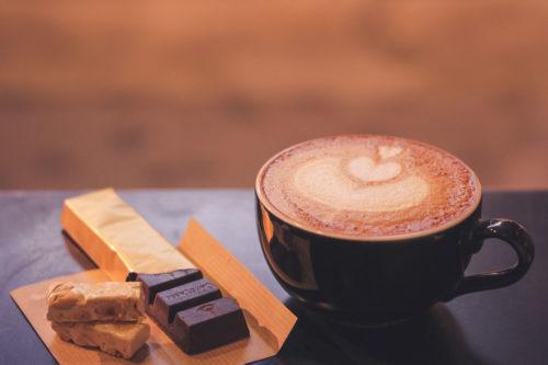 コーヒーとスイーツ